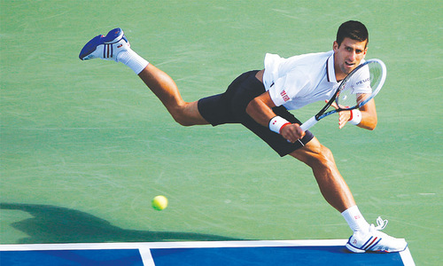 Djokovic, Serena, Murray sail through on New York breeze