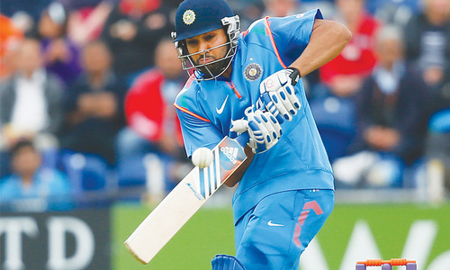 Injured Rohit ruled out