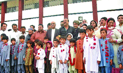 Sweet Home gets 20 orphans from N. Waziristan