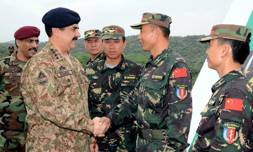 Terrorists to be rooted out, says army chief