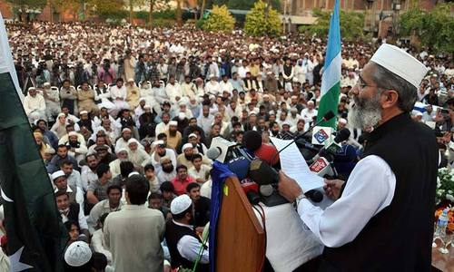 Some people want political crisis to worsen: JI emir