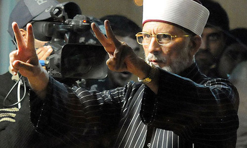 Non-bailable arrest warrant for Qadri, 71 activists