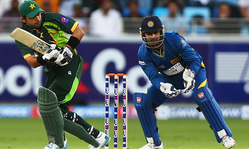 Pakistan all out for 102 in decider against Sri Lanka