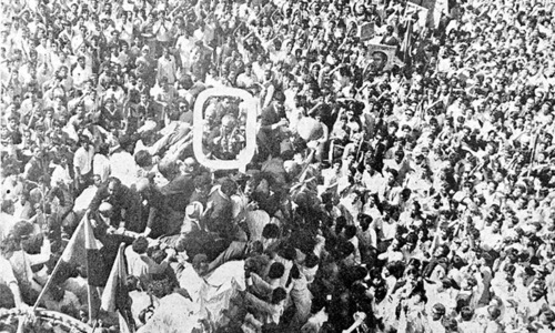 Exit stage left: the movement against Ayub Khan