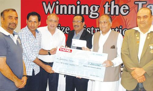 Sarfraz honoured