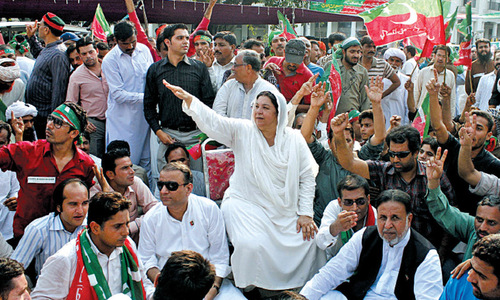 PTI does triple show in Punjab