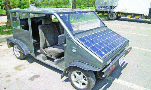 Vehicles on solar energy to ply as taxis