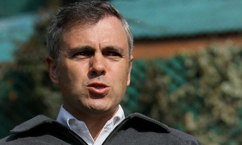 Omar defends resolution about resumption of Pak-India talks