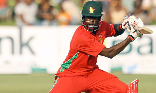 Chigumbura guides Zimbabwe to historic win over Aussies
