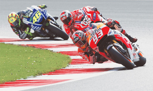 Imperious Marquez takes 11th win of season at Silverstone