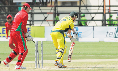 Chigumbura stars as Zimbabwe stun Aussies to end 31-year wait