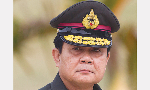 Thai junta leader stacks Cabinet with military men