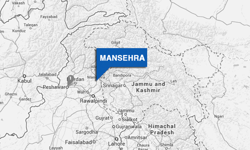 13 shops, vehicles gutted in Lower Kohistan