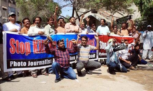 Journalists condemn police crackdown