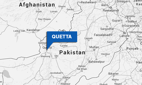 PTI workers demonstrate in Quetta