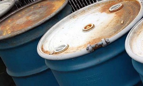 Oil prices reduced by 1.3 per cent
