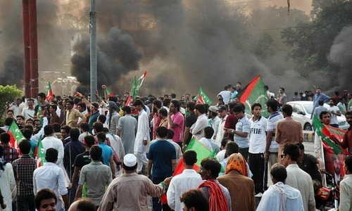 PTI, PAT stage six major protests in city