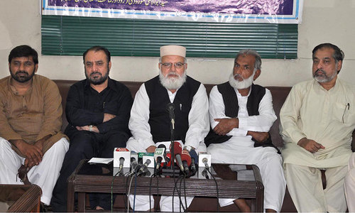 Rigidity of govt, protesters may derail democracy: JI
