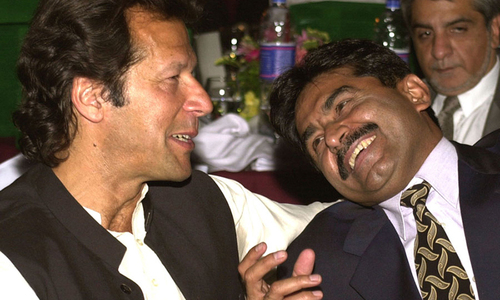 Two captains: Miandad backs Imran's protest