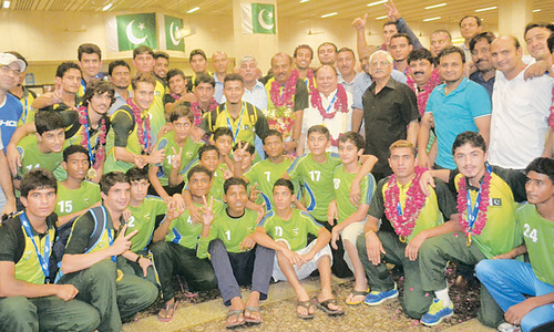 'Pakistan football team responding to Shamlan's methods'