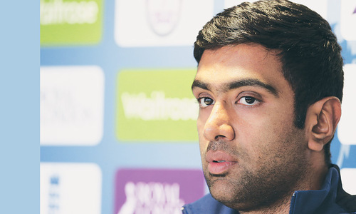 Ashwin glad to see England struggle against spin