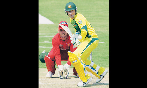 Australia seek boost against  S. Africa after Zimbabwe shock