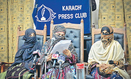 Media ignored military operation in Kech district, says BSO-Azad leader