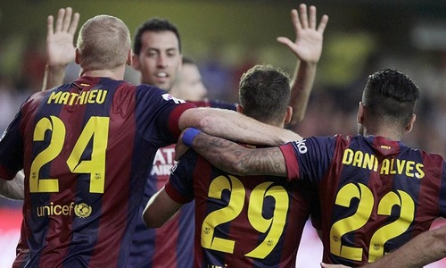Real collapse at Sociedad,  Barca triumph