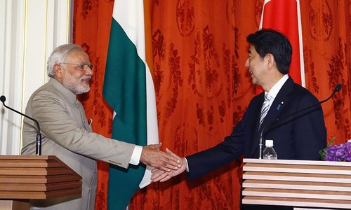 Japan, India agree to boost defence ties