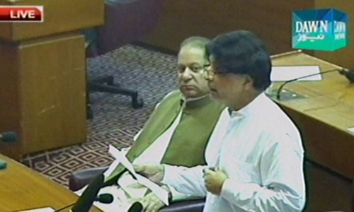 Islamabad stand-off: As protesters stand their ground, PM Nawaz in Parliament