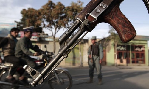 Suicide car bomb kills three Afghan policemen
