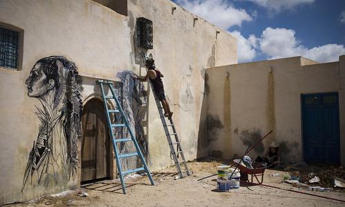 Open sky museum in Djerba's Erriadh