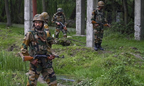 Indian troops kill three rebels in Kashmir fighting