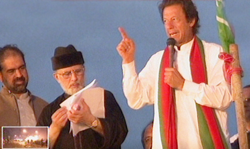 As Parliament unites, so do Imran, Qadri