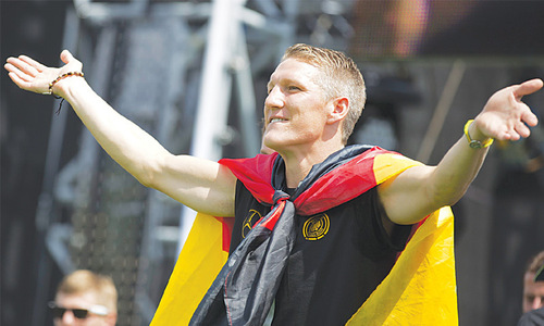 Schweinsteiger named Germany captain