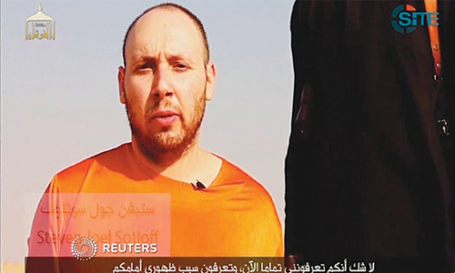 Militants claim beheading another US journalist