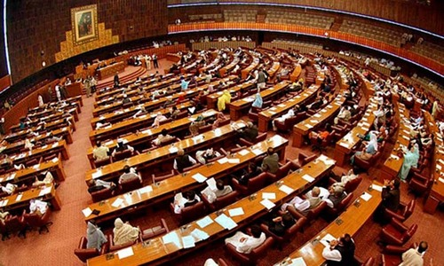 Political differences nearly lead to blows in Parliament