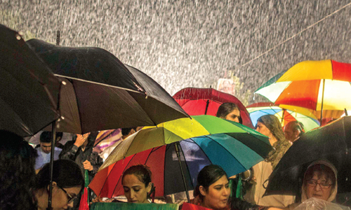 Torrential rains ravage the region