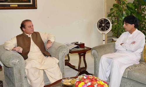 PM urges interior minister to keep his cool