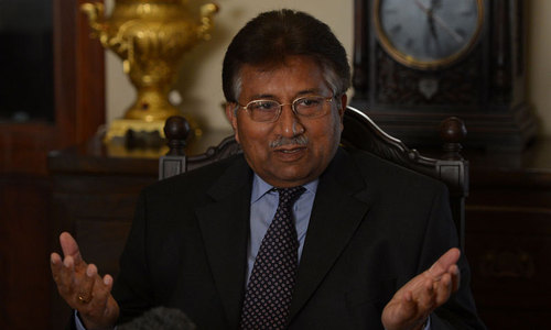 Bugti murder case: Musharraf fails to appear before ATC