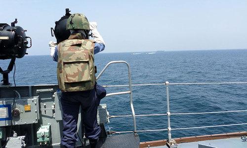 Terror attack thwarted at Karachi Naval Dockyard