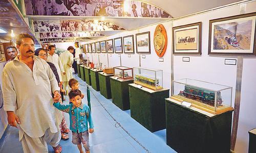 Freedom train arrives in Karachi