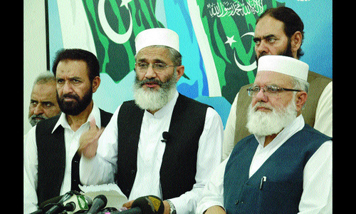 JI chief terms situation in Balochistan serious