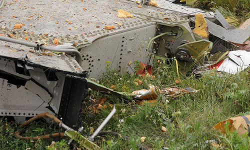 Flight MH17 hit by numerous 'high energy objects'