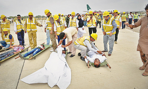 CAA tests ability to respond in emergencies