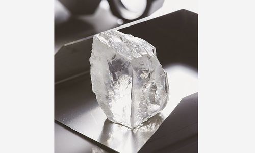 'Exceptional' 232-carat white diamond found in South Africa