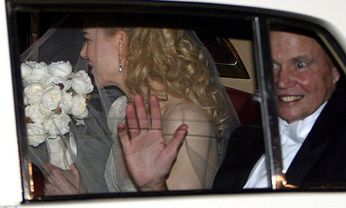 Nicole Kidman 'in shock' after father's sudden death