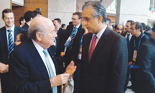 AFC chief expresses support for Blatter