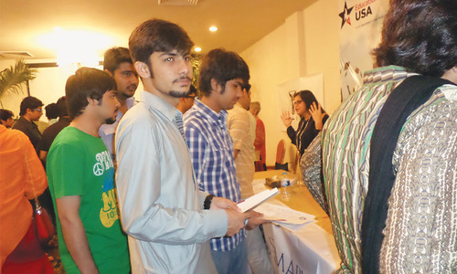Fair held for youth eager to pursue higher education in US
