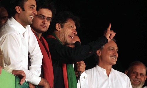 Case registered against Imran Khan for releasing arrested activists